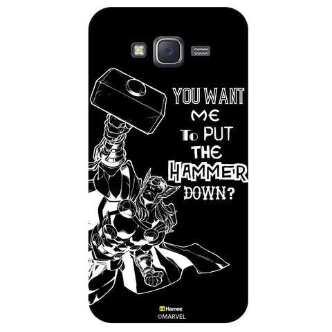 Thor Reactionblack  Samsung Galaxy J5 Case Cover