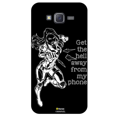 Black Widow Reactionblack  Samsung Galaxy J5 Case Cover