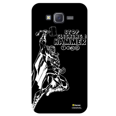 Thor Reaction1Black  Samsung Galaxy J5 Case Cover