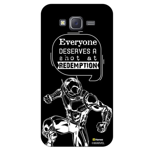 Ant Man Quoteblack  Samsung Galaxy J5 Case Cover