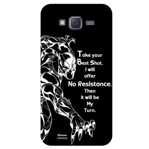 Black Panther Quoteblack  Samsung Galaxy J5 Case Cover