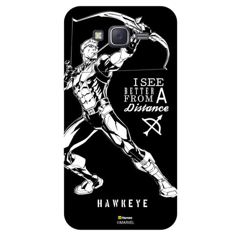 Hawkeye Quote1Black  Samsung Galaxy J5 Case Cover
