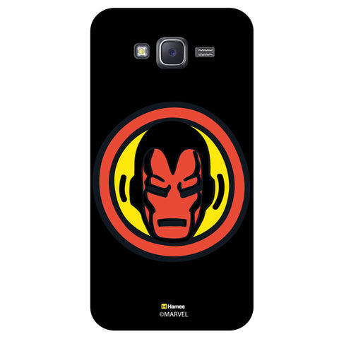 Iron Man Bedge1Black  Samsung Galaxy J5 Case Cover