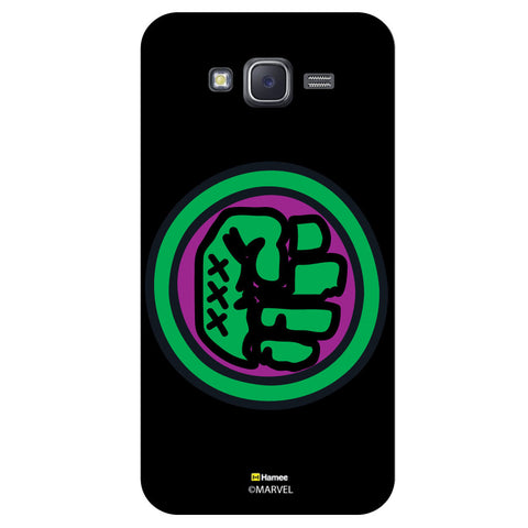 Hulk Fist Bedge1Black  Samsung Galaxy J5 Case Cover