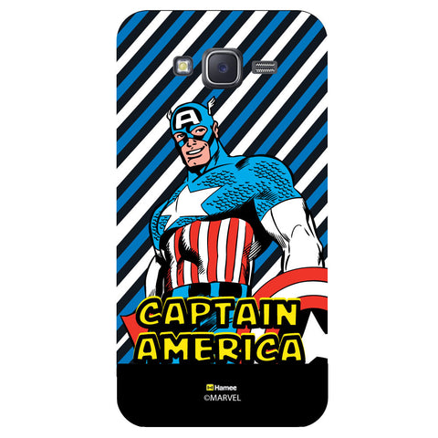 Captain America 7Black  Samsung Galaxy J5 Case Cover