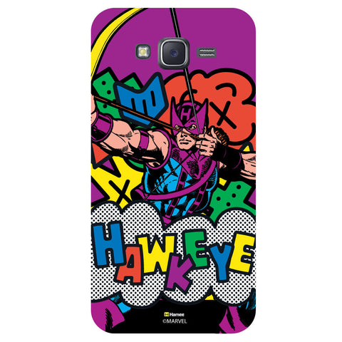 Hawkeye Illustrationblack  Samsung Galaxy J5 Case Cover