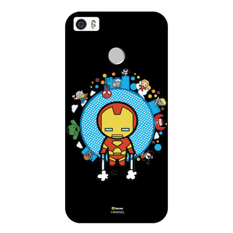 Cute Iron Man 1Black  Coolpad Max Case Cover