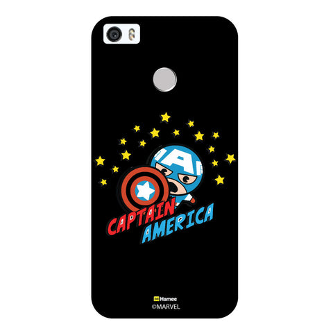 Cute Captain America Black  Coolpad Max Case Cover