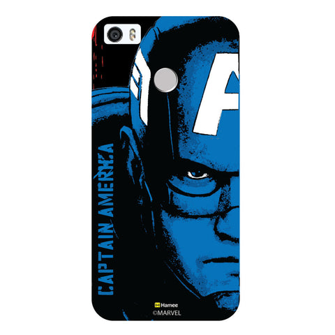 Captain America Faceblack  Coolpad Max Case Cover
