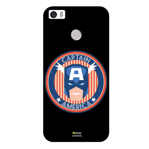 Captain America Badge2Black  Coolpad Max Case Cover