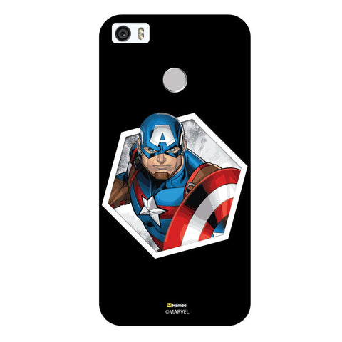 3D Captain America Hexagonblack  Coolpad Max Case Cover