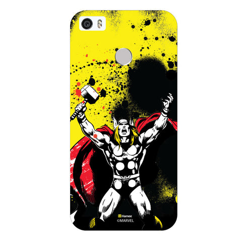Thor Yellowblack  Coolpad Max Case Cover