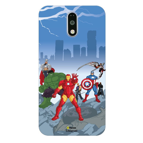 Avengers | The Team Moto G4 Plus/G4 Case Cover