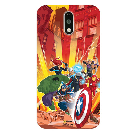 Avengers Illustration Red Moto G4 Plus/G4 Case Cover