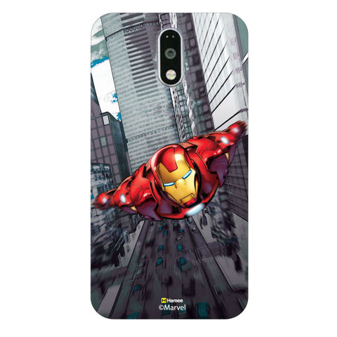 The Iron Man in the Streets Moto G4 Plus/G4 Case Cover