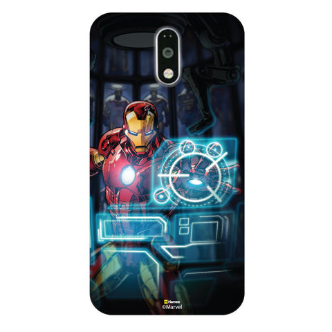 Iron Man and Jarvis Moto G4 Plus/G4 Case Cover
