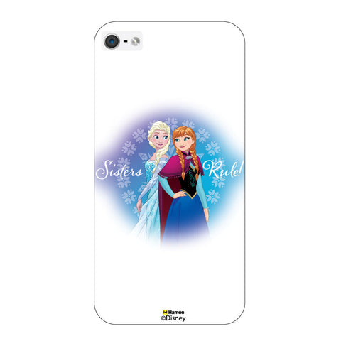 Disney Princess Frozen ( Sisters Rule )  iPhone 5 / 5S Cases