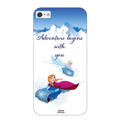 Disney Princess Frozen ( Elsa Anna Adventure ) iPhone 5 / 5S Cases