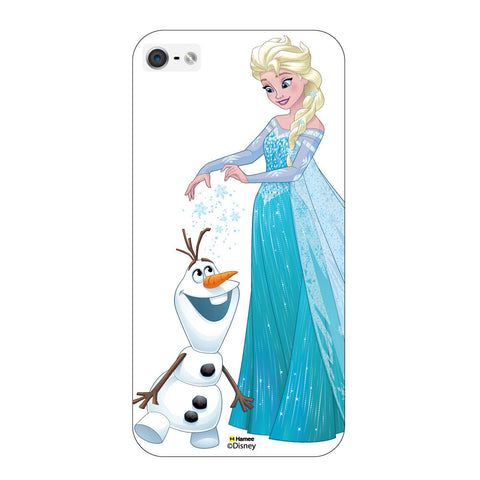 Disney Princess Frozen ( Elsa Olaf )  iPhone 5 / 5S Cases