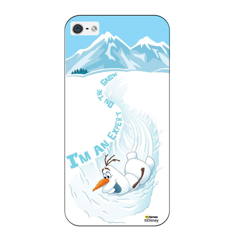 Disney Princess Frozen ( Olaf Snow Expert ) iPhone 5 / 5S Cases