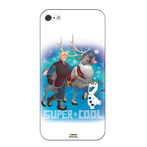 Disney Princess Frozen ( Kristoff Sven Olaf Supercool )  iPhone 5 / 5S Cases