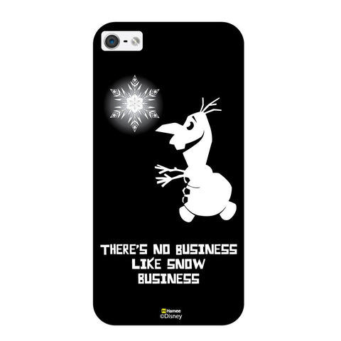 Disney Princess Frozen ( Olaf Snow Business ) iPhone 5 / 5S Cases