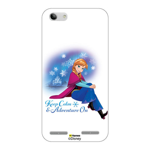 Disney Princess Frozen ( Anna Keep Calm ) Lenovo Vibe K5 Plus