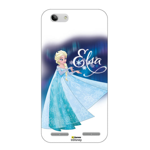 Disney Princess Frozen ( Elsa Dress ) Lenovo A6000 / A6000 Plus Plus
