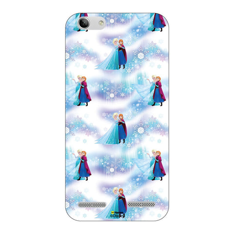 Disney Princess Frozen ( Anna Elsa Pattern 2 )  Lenovo Vibe K5 Plus