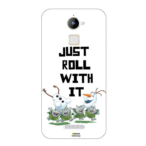 Disney Princess Frozen ( Olaf Just Roll With It )  Coolpad Note 3 Lite