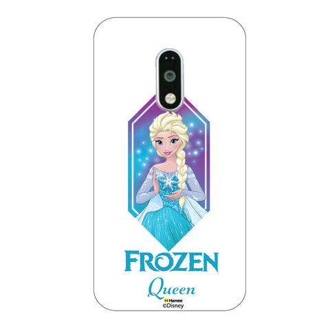 Disney Princess Frozen. ( Frozen Queen Elsa ) Moto G4 Plus