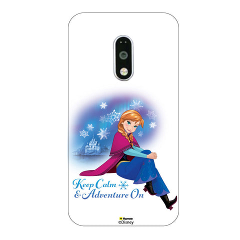 Disney Princess Frozen ( Anna Keep Calm ) Lenovo K4 Note / Lenovo Vibe K4 Note