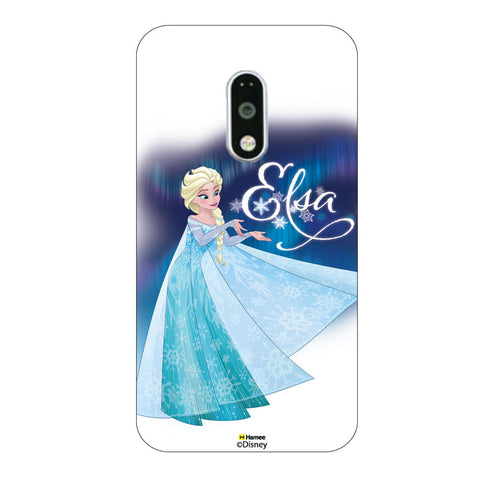 Disney Princess Frozen. ( Elsa Dress ) Moto G4 Plus