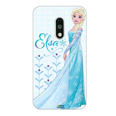 Disney Princess Frozen. ( Elsa Motifs ) Moto G4 Plus