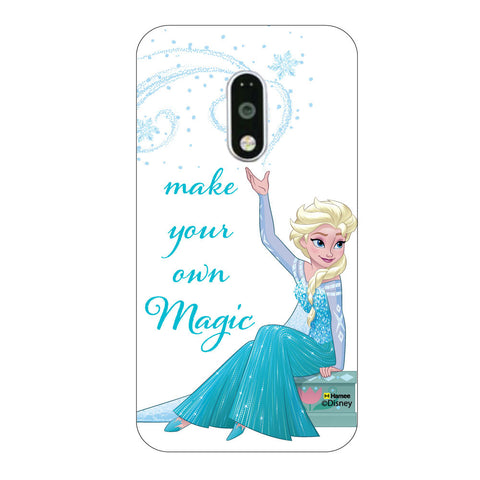 Disney Princess Frozen. ( Elsa Magic ) Moto G4 Plus