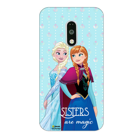 Disney Princess Frozen ( Sisters are Magic ) Lenovo K4 Note / Lenovo Vibe K4 Note