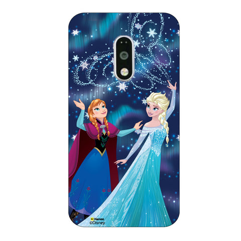 Disney Princess Frozen. ( Anna Elsa Magic ) Moto G4 Plus