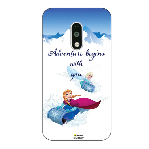 Disney Princess Frozen. ( Elsa Anna Adventure ) Moto G4 Plus