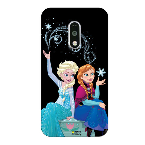 Disney Princess Frozen. ( Elsa Friends Magic 3 )  Moto G4 Plus