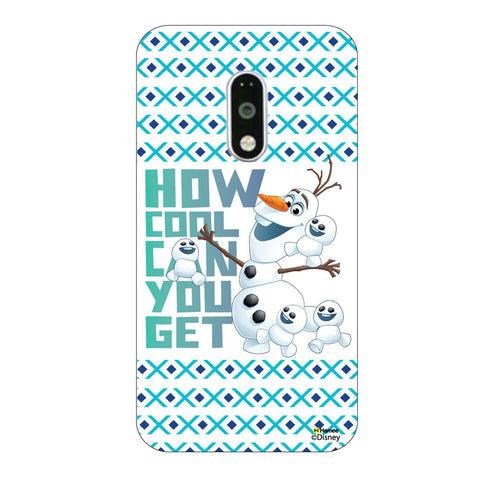 Disney Princess Frozen ( Olaf Cool )  Lenovo K5 Note