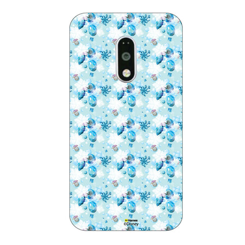 Disney Princess Frozen. ( Anna Elsa Pattern 3 )  Moto G4 Plus
