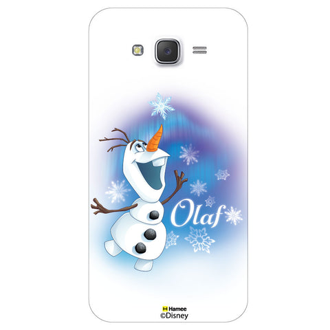Disney Princess Frozen / On 7 ( Olaf Ice Flakes )  Samsung Galaxy On7