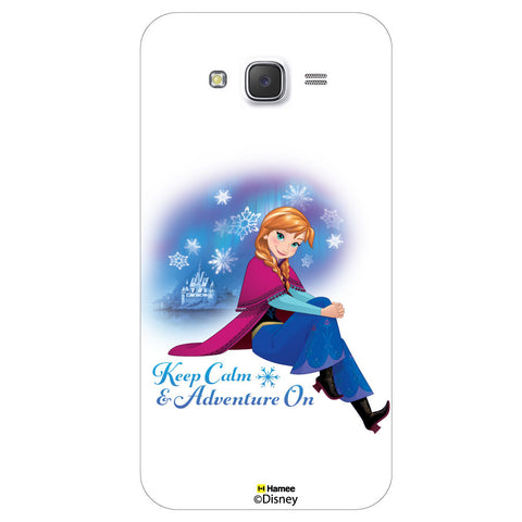 Disney Princess Frozen / On 7 ( Anna Keep Calm ) Samsung Galaxy On7