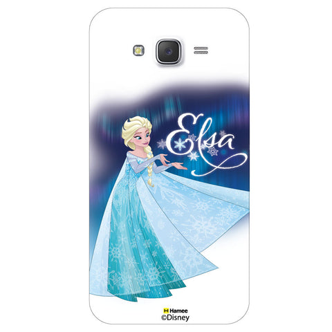 Disney Princess Frozen ( Elsa Dress ) Samsung Galaxy J5