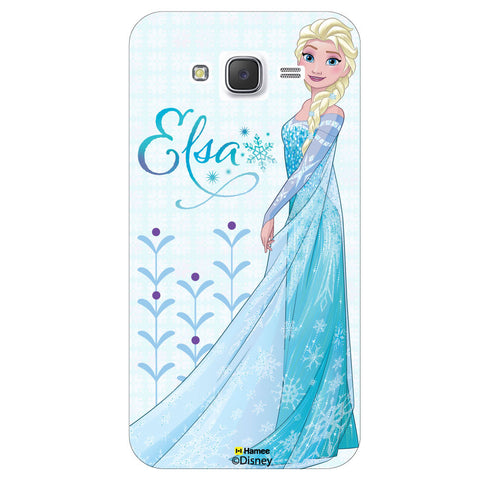Disney Princess Frozen ( Elsa Motifs ) Samsung Galaxy J5