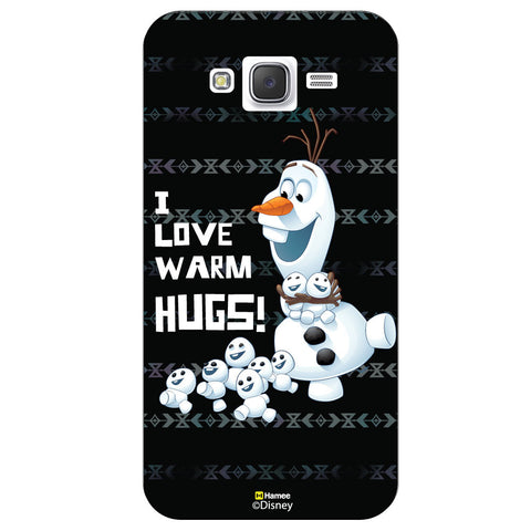 Disney Princess Frozen / On 7 ( Olaf Love Hugs ) Samsung Galaxy On7