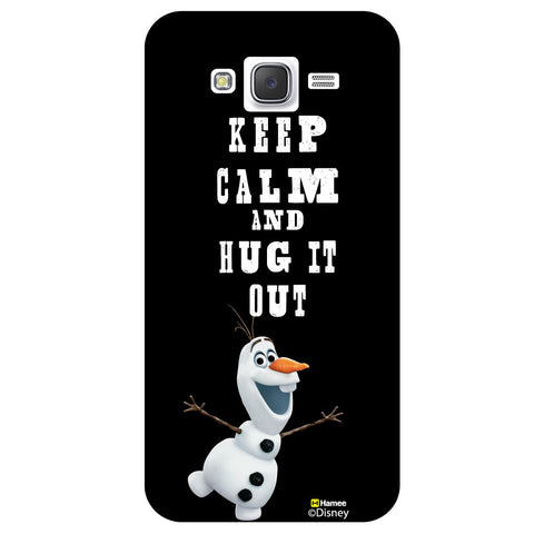 Disney Princess Frozen / On 7 ( Olaf Keep Calm ) Samsung Galaxy On7