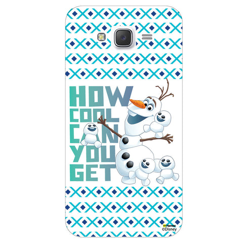 Disney Princess Frozen / On 7 ( Olaf Cool )  Samsung Galaxy On7