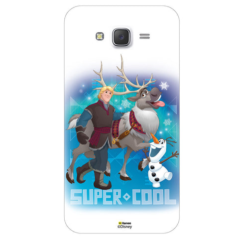 Disney Princess Frozen / On 7 ( Kristoff Sven Olaf Supercool )  Samsung Galaxy On7