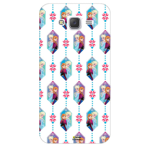 Disney Princess Frozen / On 7 ( Anna Elsa Pattern )  Samsung Galaxy On7